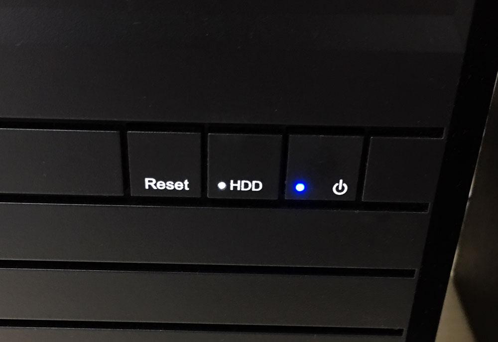 HDDのアクセスランプ