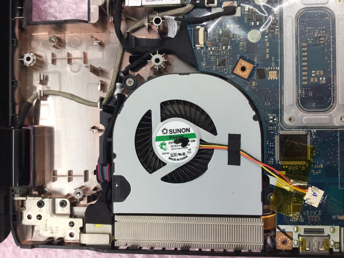 東京都江戸川区 ノートパソコン メッセージが表示される/NEC Windows 10のイメージ
