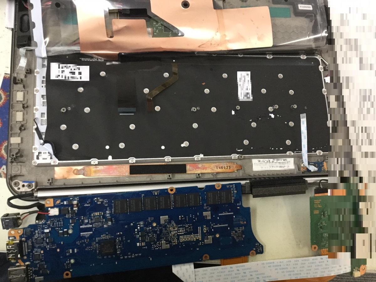 福島県双葉郡富岡町 ノートパソコンのキーボード不具合/東芝 Windows 8.1/8のイメージ