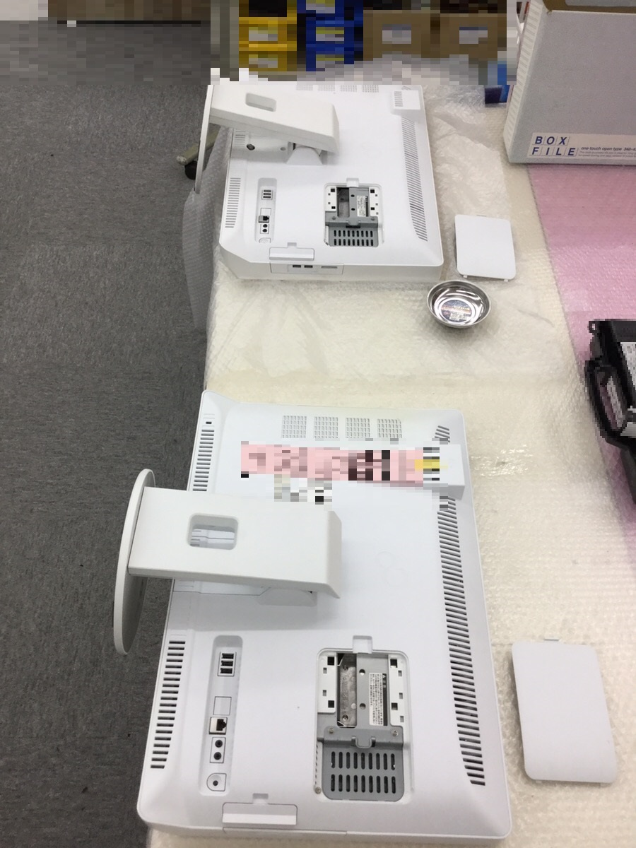 千葉県佐倉市 デスクトップパソコンのモニターが映らない/富士通 Windows 8.1/8のイメージ