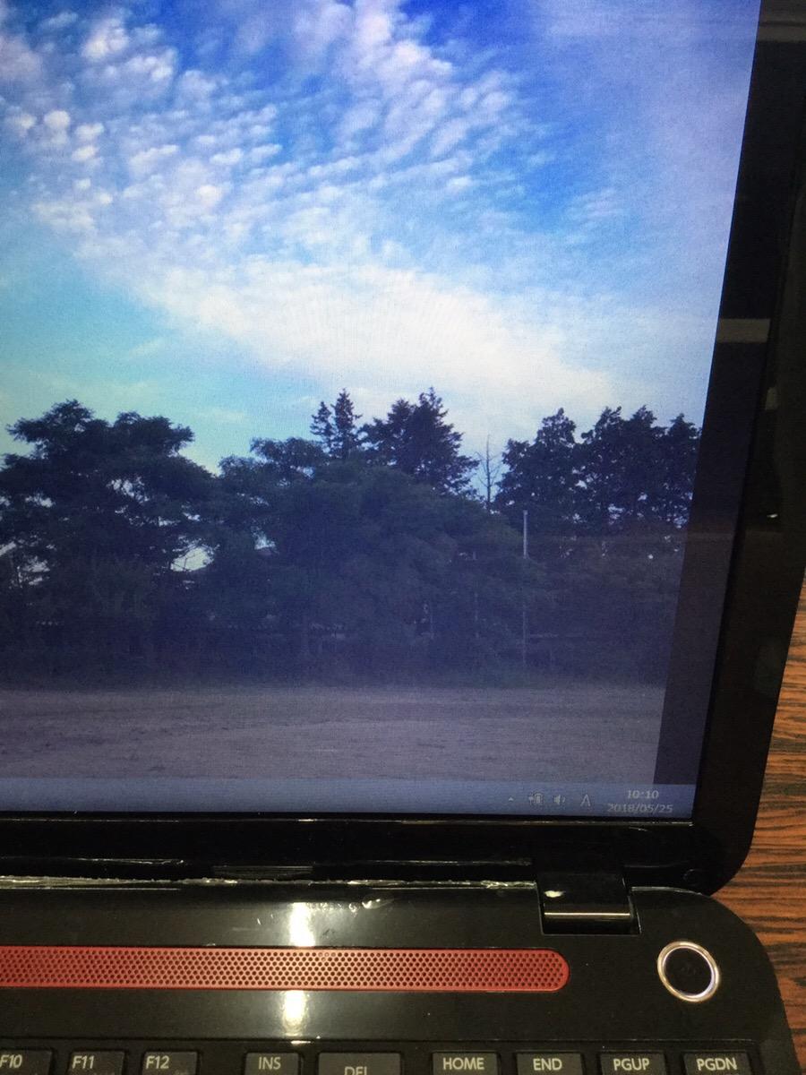 北海道江別市 ノートパソコンの液晶関連トラブル/東芝 Windows 8.1/8のイメージ