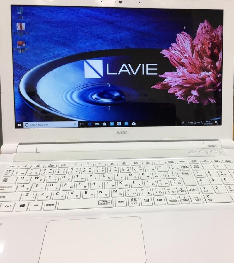 神奈川県横浜市港北区 ノートパソコンが起動しない/NEC Windows 10のイメージ