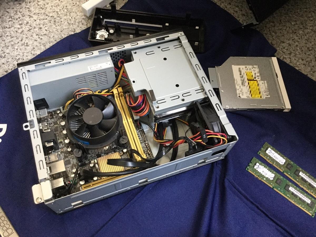 京都府京都市南区 デスクトップパソコンの内蔵機器トラブル/ASUS Windows 8.1/8のイメージ