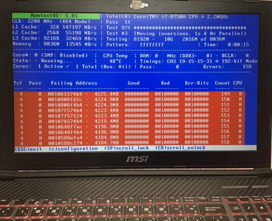神奈川県平塚市 ノートパソコンが起動しない/MSI Windows 10のイメージ