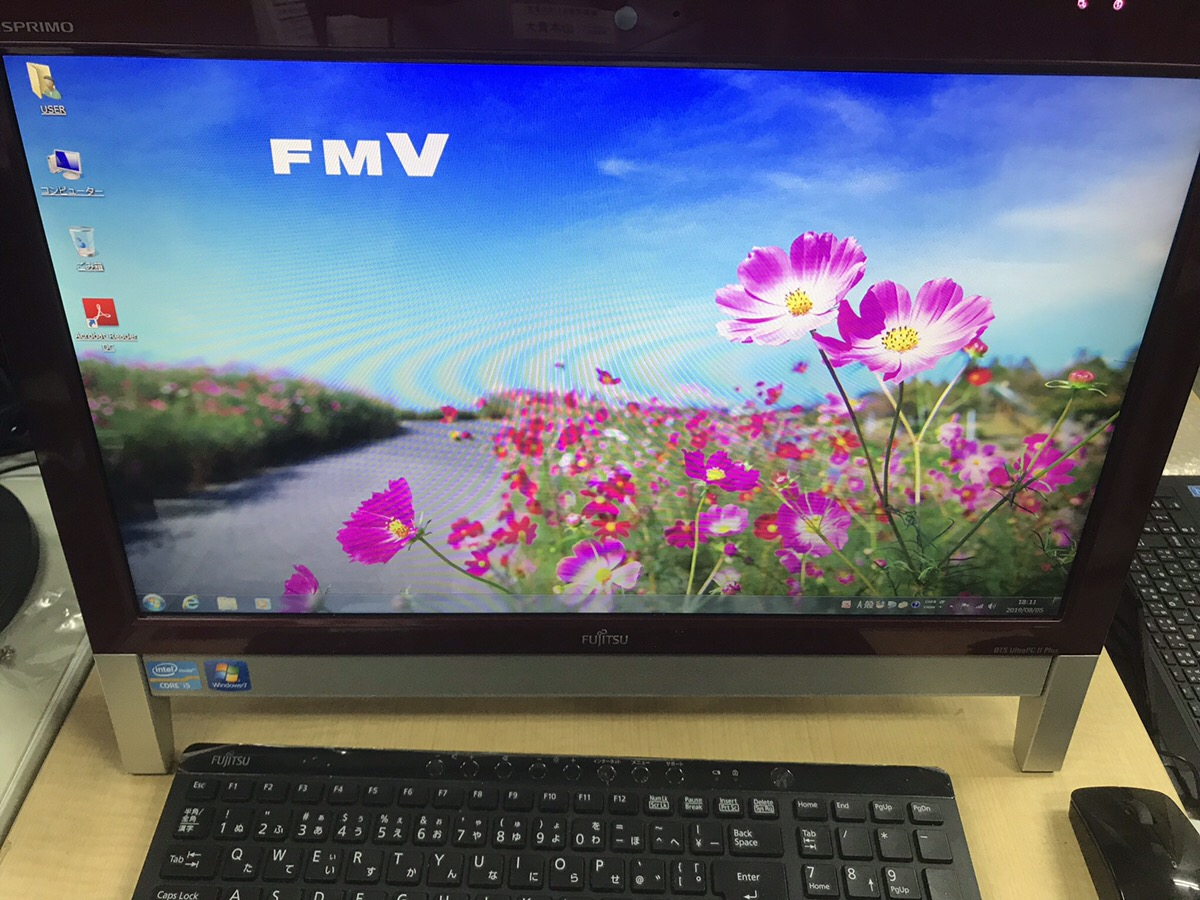 埼玉県さいたま市桜区 デスクトップパソコンが起動しない/富士通 Windows 7のイメージ
