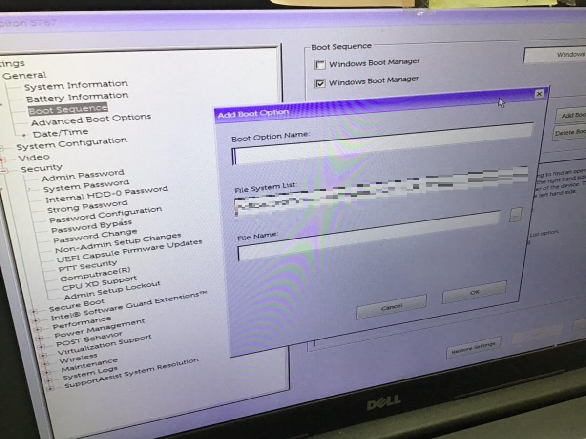 東京都中央区 ノートパソコンが起動しない/DELL(デル) Windows 10のイメージ
