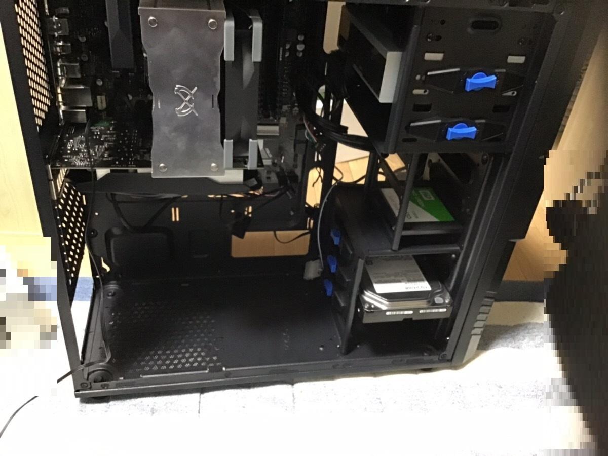 愛知県日進市 デスクトップパソコンの電源が入らない/自作PC(BTO) Windows 10のイメージ