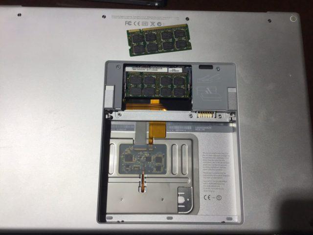 兵庫県加古川市 ノートパソコンの起動時にピープ音がなり、起動しない/Apple Mac OSのイメージ