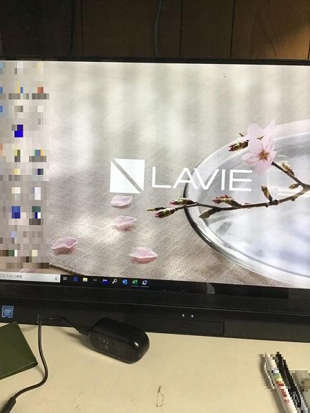 埼玉県川口市 デスクトップパソコンの画面が乱れる/NEC Windows 10のイメージ