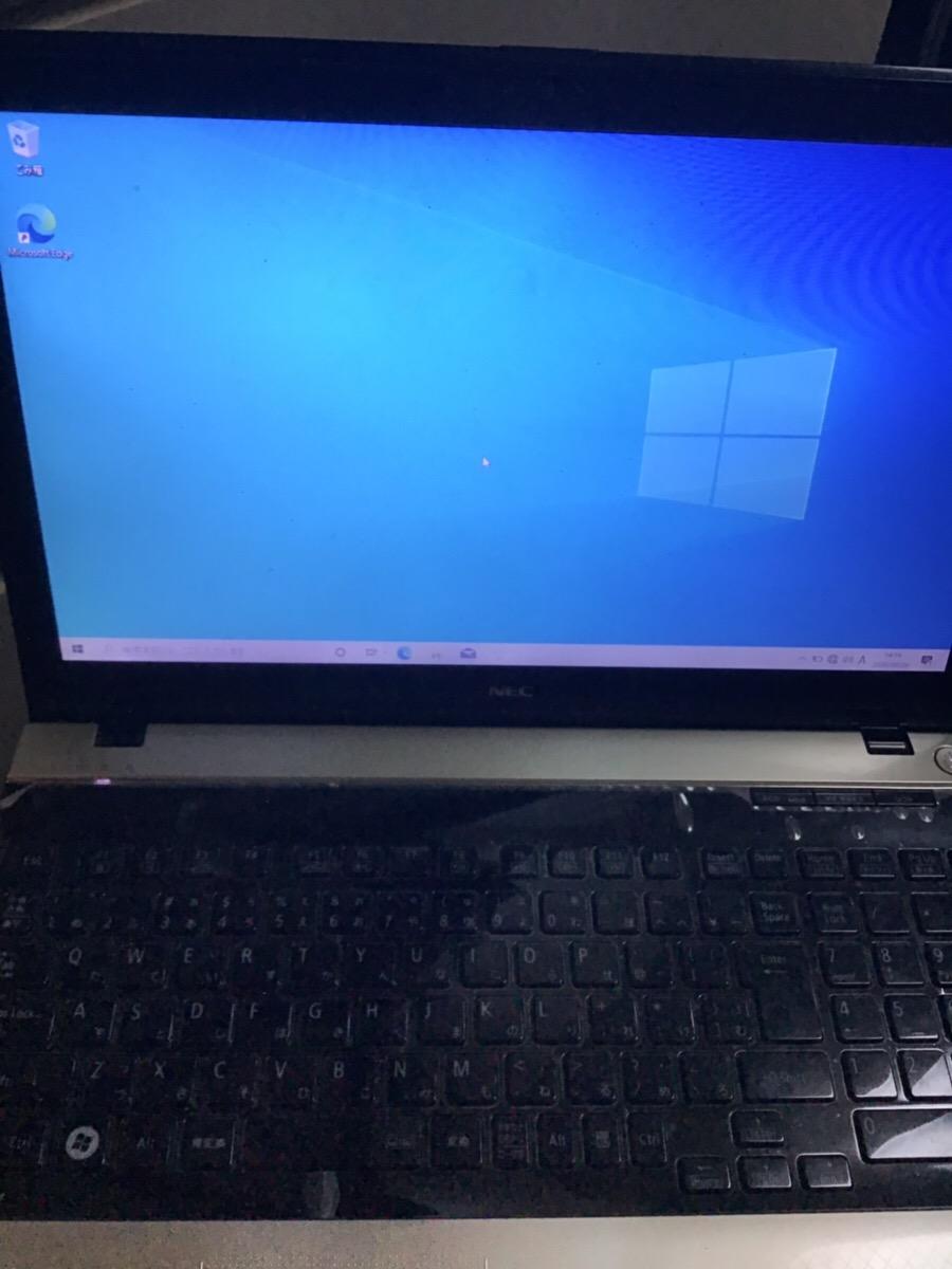 千葉県市原市 ノートパソコンが起動しない/NEC Windows 10のイメージ