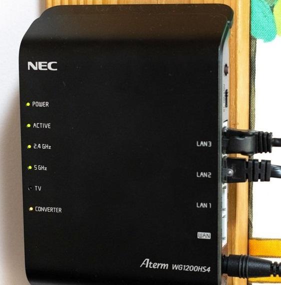 東京都練馬区 デスクトップパソコンがインターネットに接続できない/NEC Windows 10のイメージ