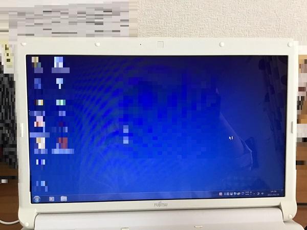 東京都葛飾区 ノートパソコンにサインインができない/富士通 Windows 7のイメージ